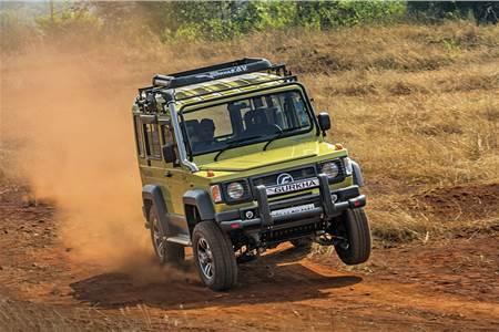 2018 Force Gurkha review, test drive