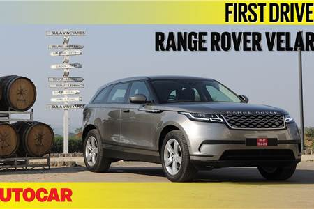 2018 Range Rover Velar video review