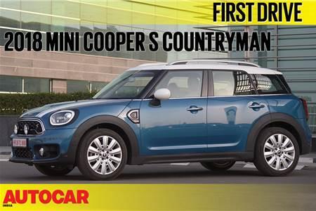 2018 Mini Countryman video review