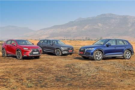 2018 Audi Q5 vs Lexus NX300h vs Volvo XC60 comparison