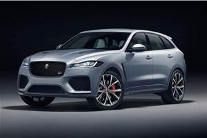 High-performance Jaguar F-Pace SVR revealed