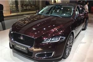 Jaguar XJ50 unveiled at Beijing motor show