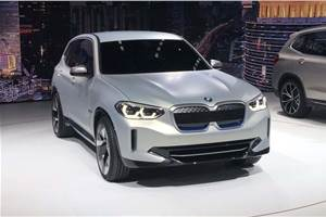 New BMW iX3 all-electric SUV unveiled