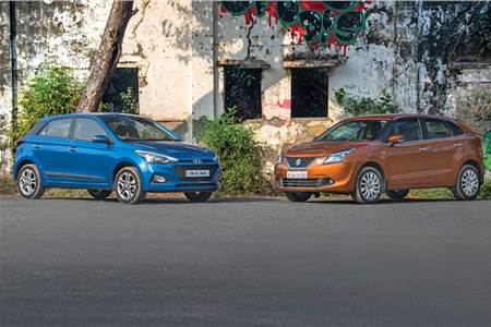2018 Hyundai i20 facelift vs Maruti Suzuki Baleno comparison