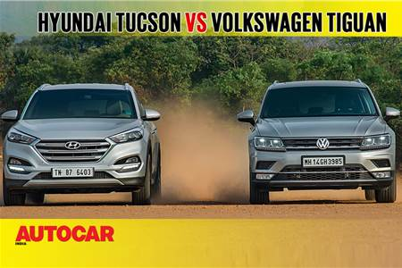 2018 Hyundai Tucson vs Volkswagen Tiguan comparison video