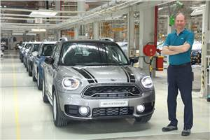 2018 Mini Countryman local assembly begins