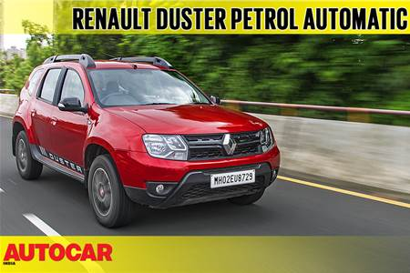 2018 Renault Duster petrol-CVT video review