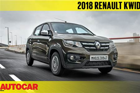2018 Renault Kwid 1.0 AMT video review