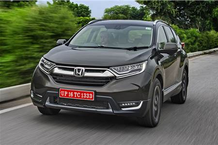 2018 Honda CR-V India review, test drive