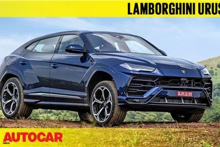 2018 Lamborghini Urus India video review