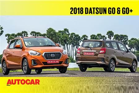 2018 Datsun Go, Go+ video review