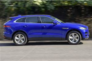 2019 Jaguar F-Pace petrol launched at Rs 63.17 lakh