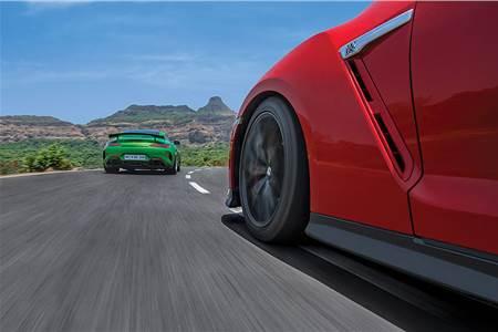 2018 Mercedes-AMG GT R vs Nissan GT-R comparison