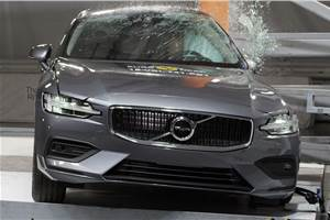New Volvo S60 receives five-star Euro NCAP rating