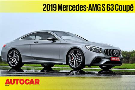 2019 Mercedes-AMG S63 coupe video review