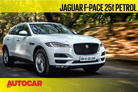 Jaguar F-Pace 25t Petrol video review