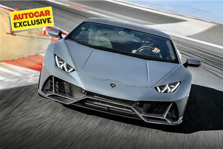 Lamborghini Huracán Evo review, test drive
