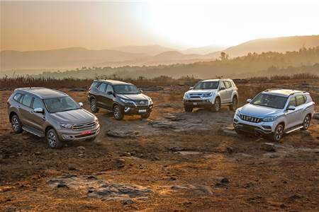 Alturas G4 vs Endeavour vs Fortuner vs MU-X comparison