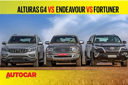 Alturas G4 vs Endeavour vs Fortuner comparison video