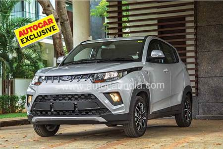 Mahindra eKUV100 prototype review, test drive