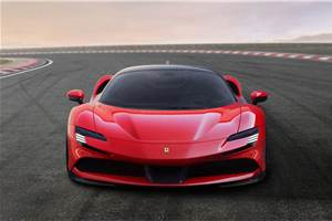 Ferrari SF90 Stradale breaks cover