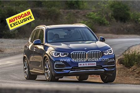 2019 BMW X5 India review, test drive