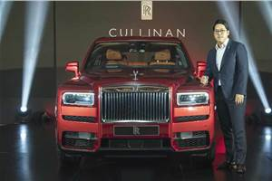 Rolls-Royce Cullinan showcased in Chennai