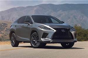Lexus RX facelift revealed