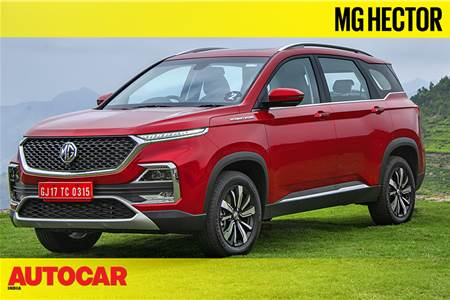 2019 MG Hector video review