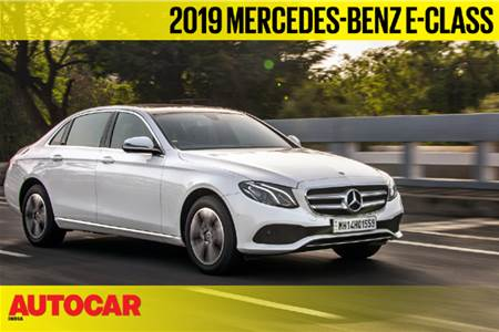 2019 Mercedes-Benz E 220d BS6 video review