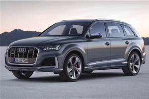 Audi SQ7 facelift revealed with 435hp V8 diesel engine