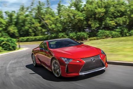 Lexus LC500, LC500h review, test drive