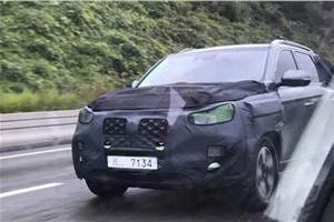 Ssangyong working on Rexton G4 facelift