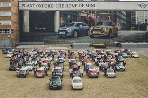 Mini celebrates 60th anniversary, rolls out 10 millionth car