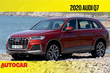 2020 Audi Q7 facelift video review