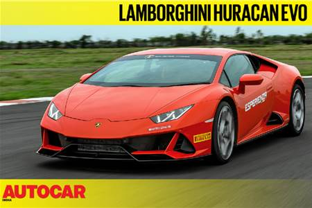 Lamborghini Huracan Evo India video review