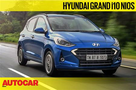 2019 Hyundai Grand i10 Nios video review