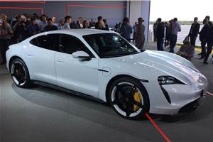 All-electric Porsche Taycan unveiled