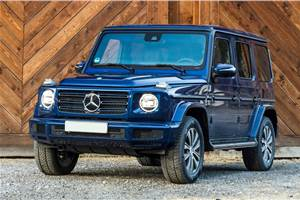 Mercedes-Benz G 350d India launch on October 16