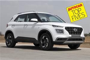 Top 5 diesel-manual compact SUVs in India