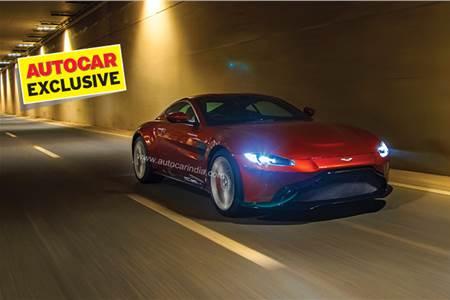 2019 Aston Martin Vantage India review, test drive