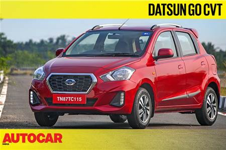 2019 Datsun Go, Go+ CVT video review
