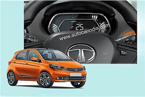 SCOOP! Tata Tiago, Tigor get digital instrument cluster