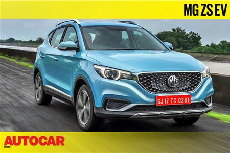 MG ZS EV India video review