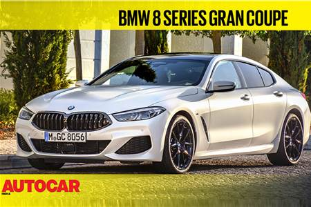 BMW 8 Series Gran Coupe video review
