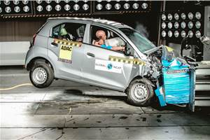Hyundai Santro receives two-star Global NCAP rating
