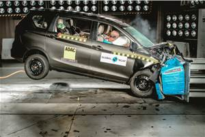 Maruti Suzuki Ertiga scores three stars in Global NCAP crash test