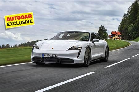 Porsche Taycan Turbo S review, test drive