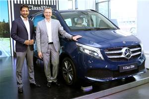 Mercedes-Benz V-class Elite launched at Rs 1.1 crore