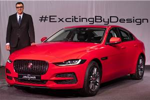 Jaguar XE facelift launched at Rs 44.98 lakh